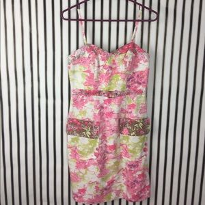 NEW Tracy Reese Pink Floral Dress